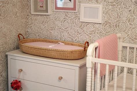 changing table baskets creatively woven enchanted forest