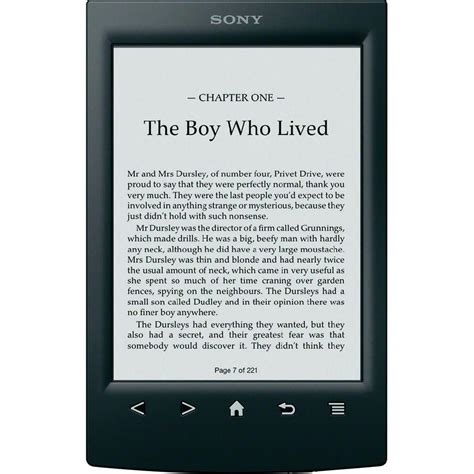 e reader sony prs t2bc ereader 6 quot from conrad