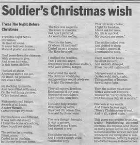 Poem 920 0 no poem can bring christmas to a deployed soldier