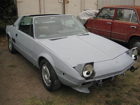 1986 Fiat Bertone 1986 Fiat X1 9 Bertone Rust Free Ca Car Excellent