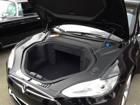 tesla inside hood tesla model s under the hood www pixshark com images