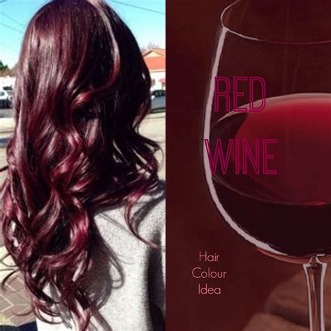 wine color hair wine hair colour redhair burgundyhair haircolour