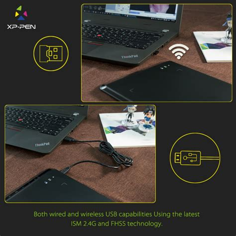 Deal Xp Pen Wireless Smart Graphics Drawing Pen Tablet With Passi xp pen wireless smart graphics drawing pen tablet with passive pen 05 black