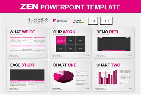 Zen Powerpoint Template Best Designers Zen Presentation Templates