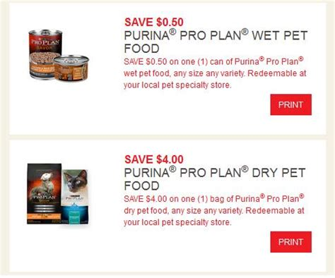 dog food coupons canada purina canada coupons four new printable coupons