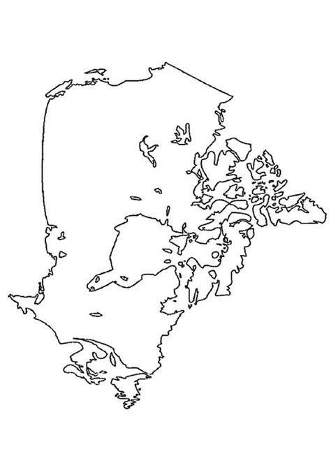 Dessins Gratuits à Colorier - Coloriage Canada à imprimer