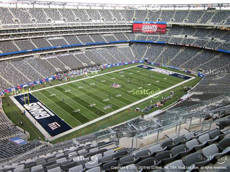 section 113 metlife stadium new york giants seating chart interactive map seatgeek