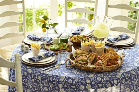 summer lunch menus for entertaining weekend entertaining casual summer lunch williams