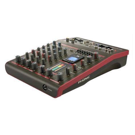 table de mixage enregistreur phonic celeus celeus 200 table de mixage analogique avec