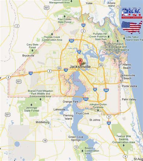 jacksonville map jacksonville map afputra