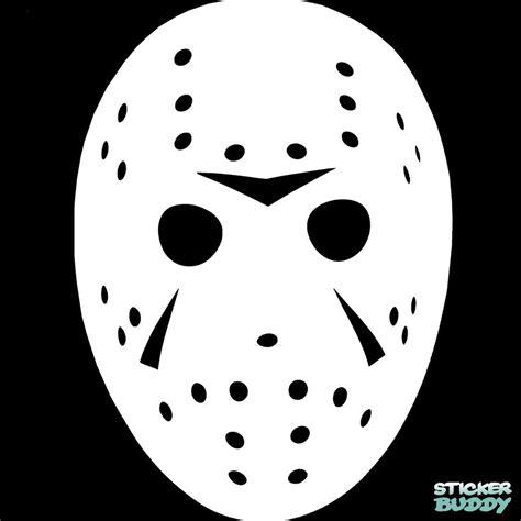 Hockey Wall Stickers jason voorhees vinyl decal car window sticker halloween