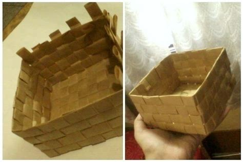 How To Make A Paper Basket Step By Step - diy paper baskets 183 how to make a paper bowl 183 papercraft