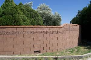 Decorative Stucco Walls Block Walls In Various Sizes Plus Stone Stucco Concrete