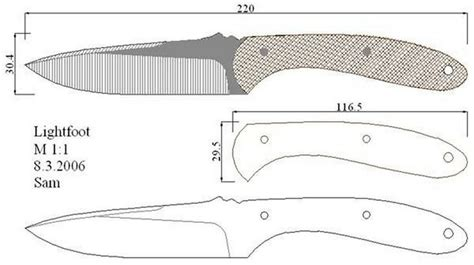 knife pattern dwg 1000 images about knife patterns on pinterest