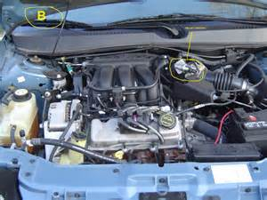 Ford Taurus Engine 2003 Ford Taurus 3 0 Liter It Idles Up And When Put Ac