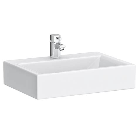 rectangular counter top ceramic basin bas007 at