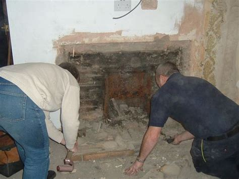 how to remove a fireplace from your home