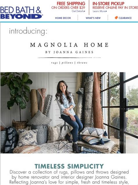 bed bath and beyond subsidiaries bed bath and beyond new magnolia home by joanna gaines