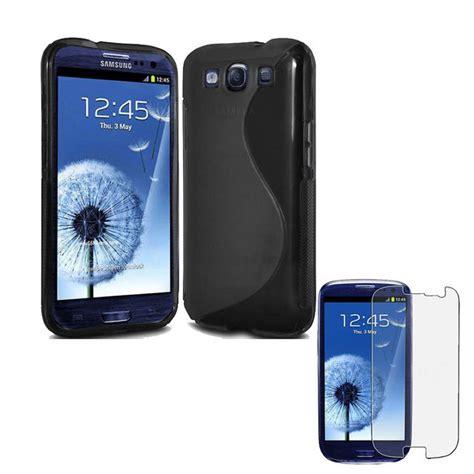 Samsung I9300 Galaxy S3 Anti Gores Glare Anti Minyak Matte Mate 000304 black tpu gel cover for samsung galaxy s3 iii i9300