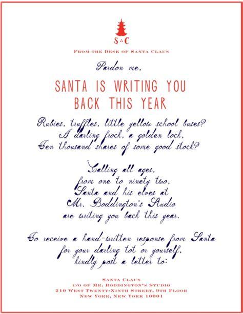 printable handwritten letter from santa letters to santa handwritten pinterest