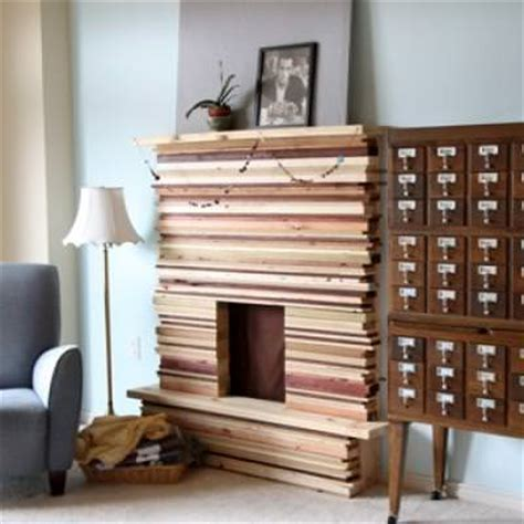 How To Build Out A Fireplace by How To Build A Stacked Wood Fireplace Tip Junkie