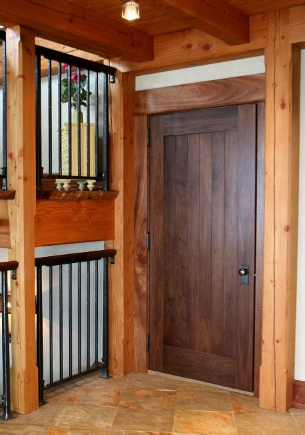 Interior Timber Doors Timber Frame Interior Doors New Energy Works