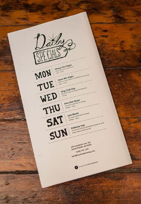 cafe menu design and print creative design designs inspiration menu restaurant