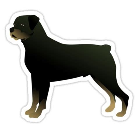 rottweiler silhouette 17 best images about rottweiler and gifts on unique woodworking pet