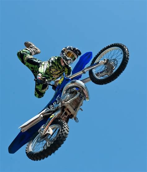 how to jump a motocross free stock photo of bike fmx freestyle