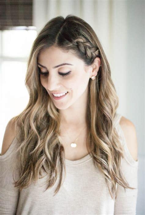 Wedding Hair Up Side Styles by Half Up Side Braid Hair Tutorial Mcbride