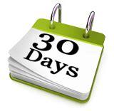 Calendar 30 Days The 30 Days