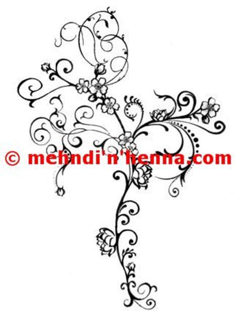 floral vine henna tattoo with pug tails mehndi n henna