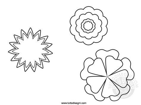 fiori da stare e ritagliare disegni fiori disegni colorare natura fiore fiori