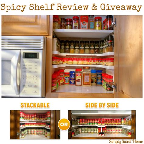 Spicy Shelf Getting Organized With Spicy Shelf