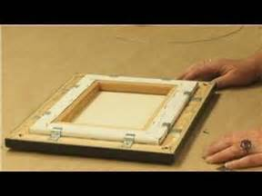 how to frame a print framing how to frame a canvas print youtube
