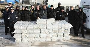 27kg of cocaine found in french military official s bag