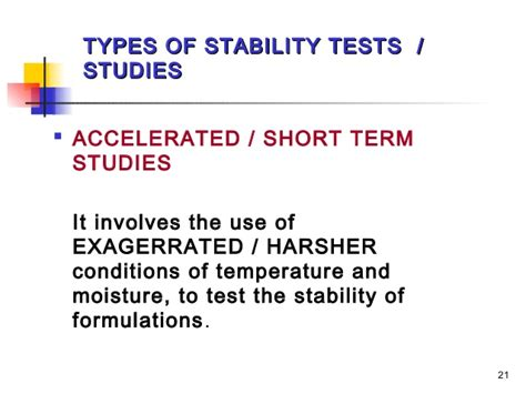 Shelf Accelerated Stability Testing by Chapter 4 Cosmetic Stability
