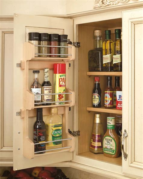 Door Mounted Spice Rack 10 Inch Door Mount Spice Rack 4sr 15