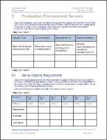 Capture Plan Template by Exle Of Capacity Plan Template Ms Word You Can Use