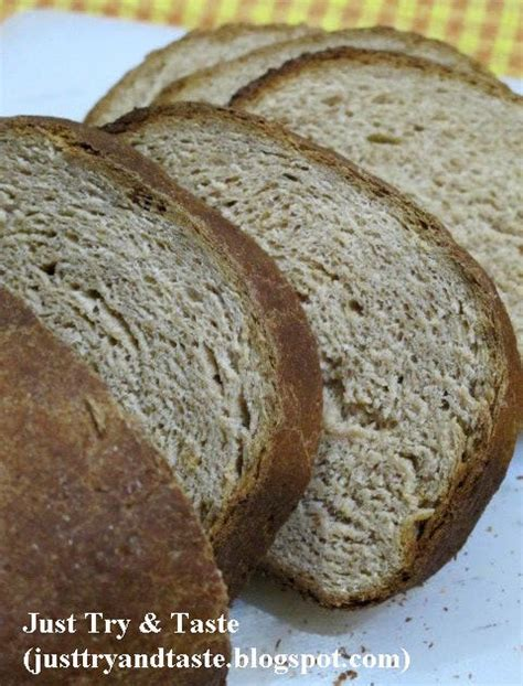 membuat roti sendiri resep homemade roti gandum 100 tepung gandum utuh