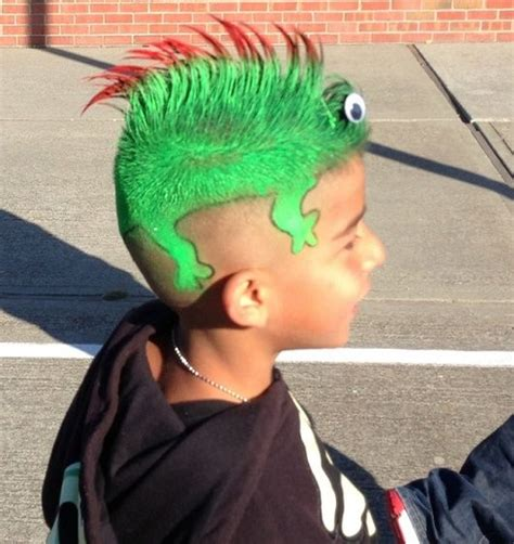 imagenes de cumpleaños locos las 25 mejores ideas sobre peinados locos para ni 241 os en