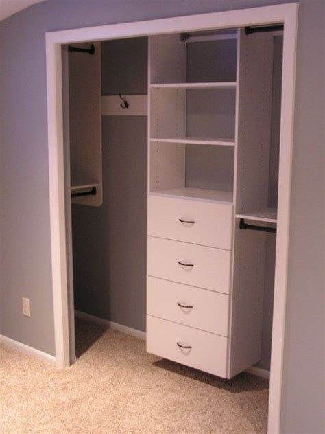 Small Bedroom Closet Design Best 25 Small Closets Ideas On Pinterest Closet Storage Small Closet Design And Closet Redo