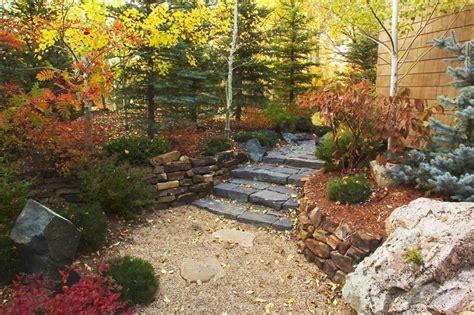 rock garden steps walls and steps insite landscape