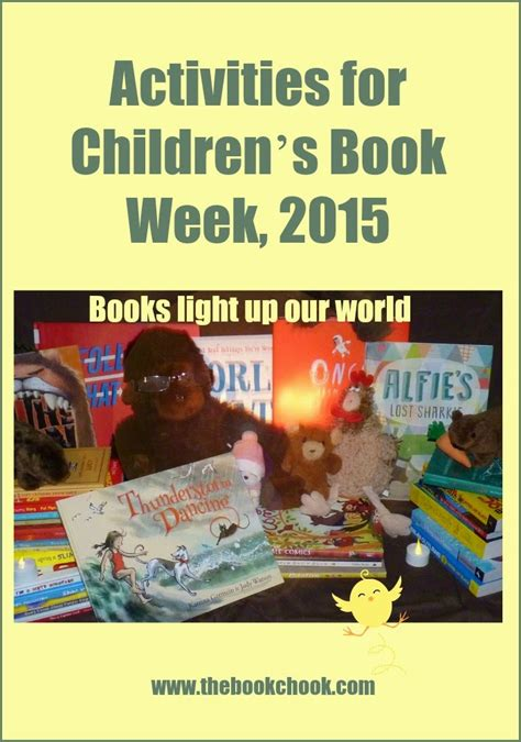 themes for english week celebration 2015 the book chook activities for children s book week 2015