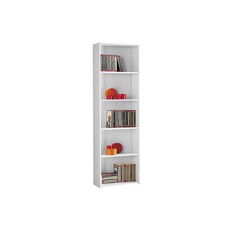 libreria valentini mobile libreria 5 ripiani 55x21x175 cm