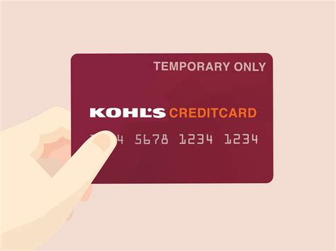 apply   kohls credit card  steps
