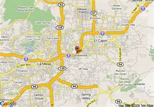 map of quality inn suites san diego east county el cajon