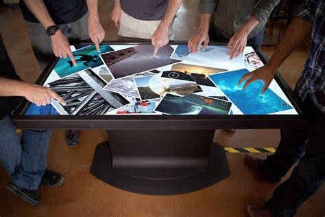Touch Screen Coffee Table Multitouch Coffee Tables From Ideum Hiconsumption