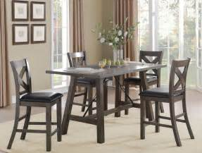 Counter Height Dining Room Set Seaford Black Counter Height Dining Room Set From Homelegance Coleman Furniture