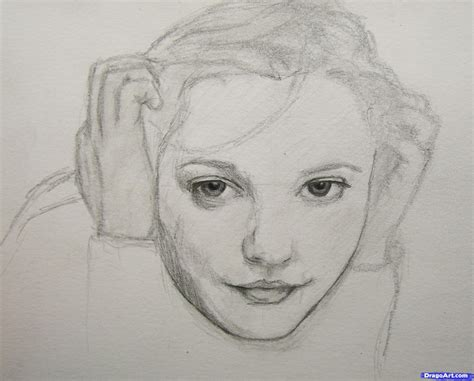 Sketches Realistic by Draw Realistic Faces Draw Real Faces Step By Step